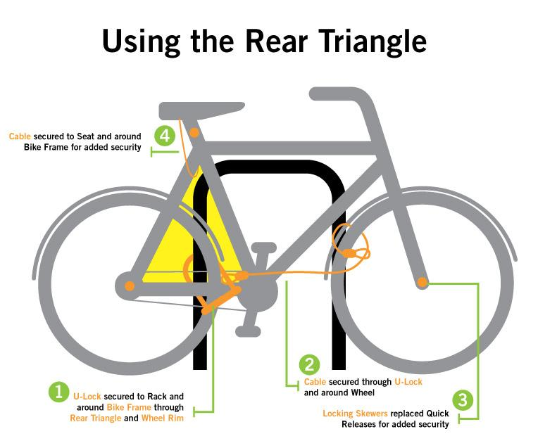 how to stop bike theft police department wayne state university rh police wayne edu cable lock diagram Door Lock Parts Diagram